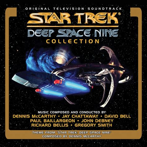star trek deep space nine 4cd soundtrack collection