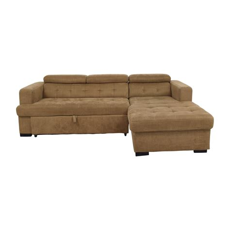 ottoman pull out sleeper pull out sofa bed bobs furniture okaycreations net