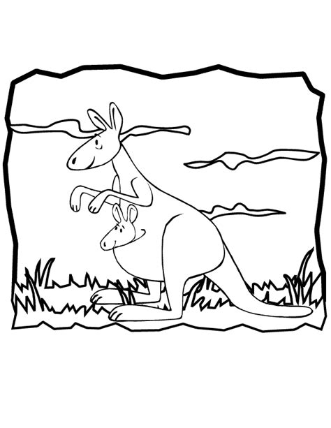 kangaroo coloring pages pdf free printable kangaroo coloring pages for kids az
