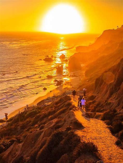 sunset malibu beach california usa faces and places and things 1327 best photography sunrises sunsets images on
