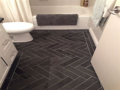 Kitchen Floor Tile Designs Images by Best Ideas About Herringbone Tile Floors On Tile Charcoal