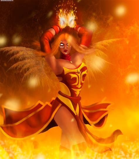 wallpaper hd dota 2 android 5891 dota 2 lina android wallpaper walops com