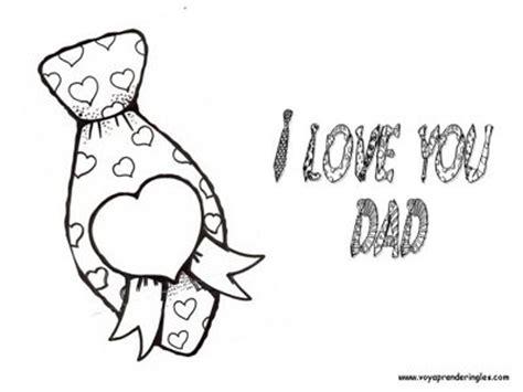 imagenes de te quiero en blanco y negro im 225 genes del dia del padre para colorear gratis lo nuevo