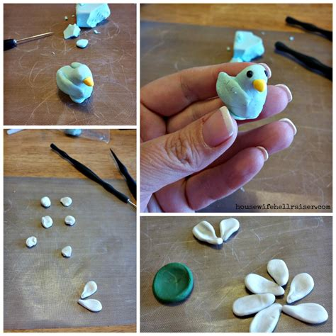 Sculpey Polymer Clay sculpey polymer clay springtime plant stakes dude that