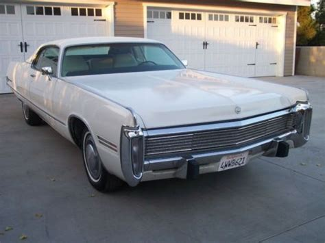 1973 Chrysler Imperial by Purchase Used 1973 Chrysler Imperial Lebaron Hardtop 2