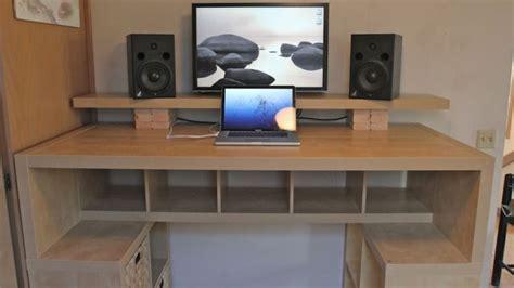 build a small desk biurko â statek kosmicznyâ zbudowane z p 243 å ek z ikei giznet pl