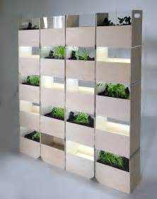 Divide and Cultivate With This Indoor Vertical Garden