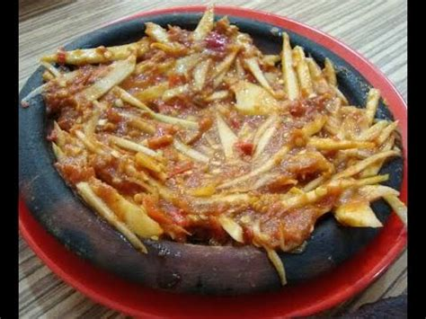 resep  membuat sambal mangga muda  enak  lezat