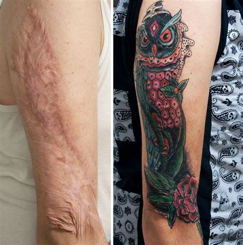 tattoos that cover scars 950 best images about skulls tattoos on