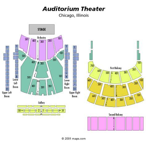 auditorium theater seating don quixote april 23 tickets chicago auditorium theatre