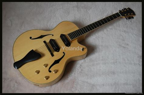 Best Handmade Guitars - handmade jazz guitar yl 17n hotman china manufacturer