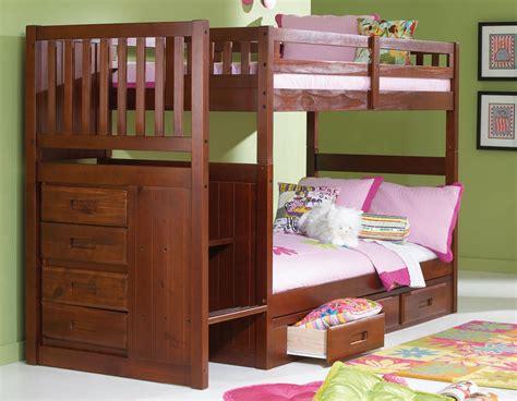 Loft Bed Alternative by 100 Loft Bed Alternative Merlot Stair Stepper Twin