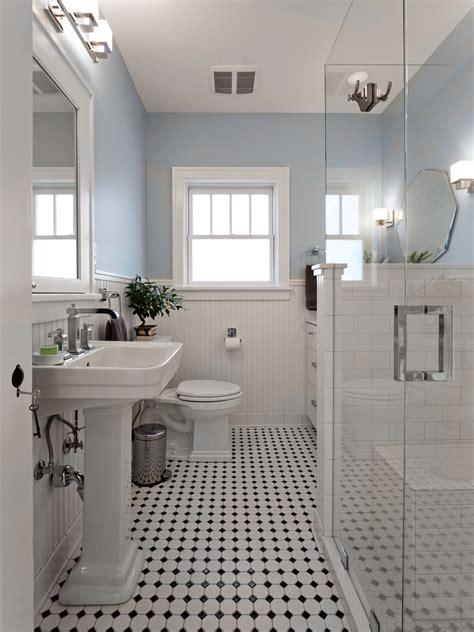 Half Bathroom Tile Ideas Blue And White Bathroom Bathroom Victorian With Black