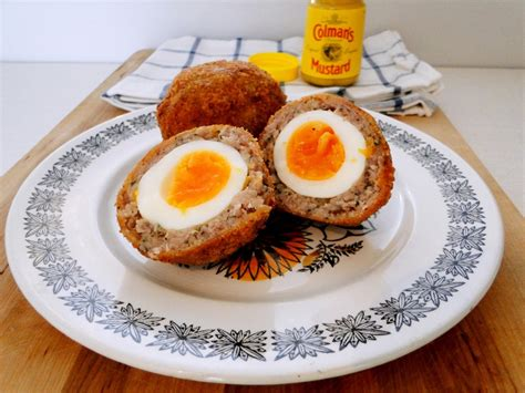 Handmade Scotch Eggs - barbecue side dishes and salads scotch eggs