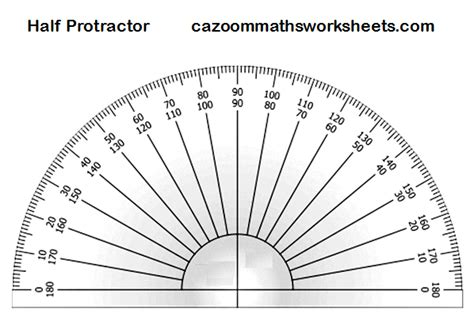 printable protractor free maths teaching resources ks3 ks4 fun maths resources