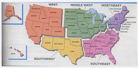 printable map united states regions 5 us region map and free worksheet fifth mpes165