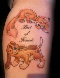 todd and copper tattoo amazing tattoos pinterest