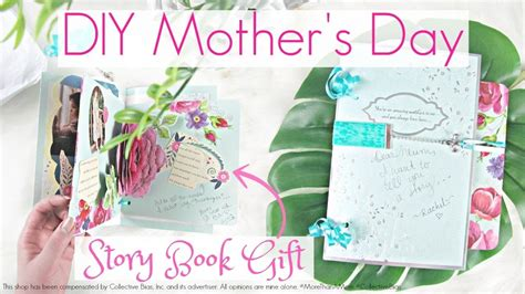 story s day diy mothers day story book gift tutorial my crafts and