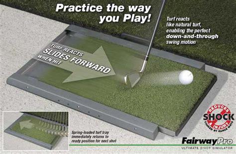 How To Make A Golf Practice Mat by Golf Aids Golf Mats Fairway Pro