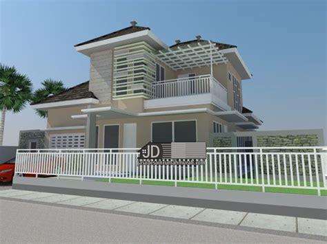 desain rumah modern tropis jasa desain rumah murah jasa arsitek gambar rumah
