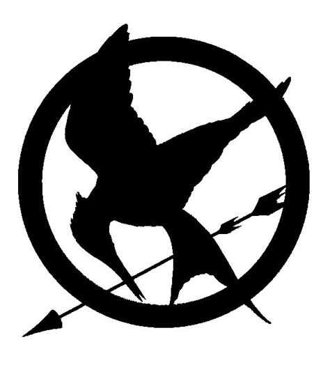 tattoo stencil paper wiki mockingjay stencil printable kid s room pinterest