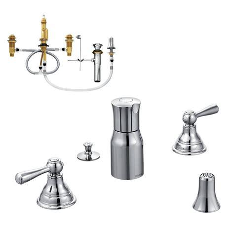 Moen Bidet Faucet by Moen Kingsley 2 Handle Bidet Faucet Trim Kit With Valve In