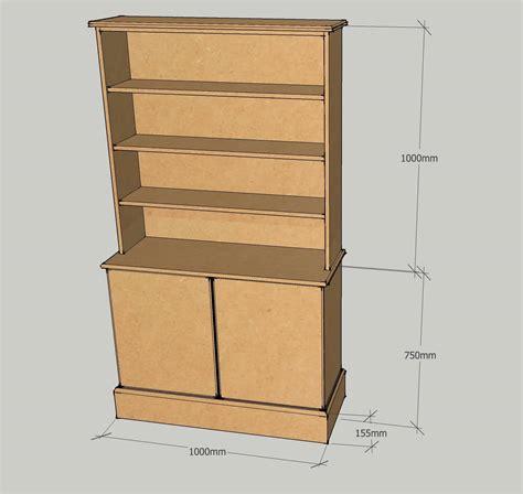 Mdf Dresser by Dresser With 3 Adjustable Shelves Bespoke Mdf
