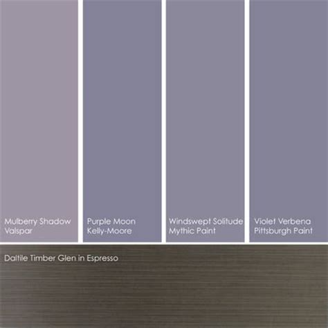gray violet paint picks these hues are against an colored floor such as daltile s