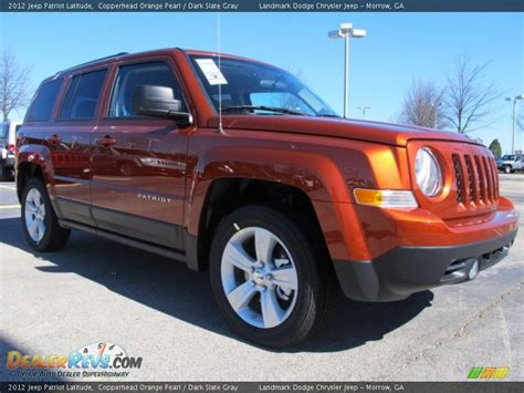 orange jeep patriot 2012 jeep patriot latitude copperhead orange pearl dark