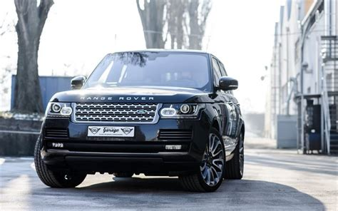 luxury black range rover wallpapers land rover range rover vogue luxury