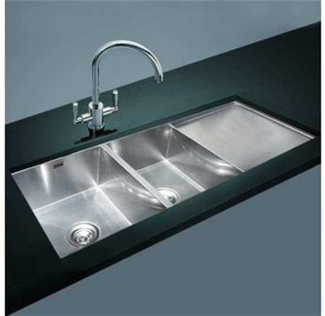 Square Kitchen Sink With Drainer Kitchen Laundry Sink Made Bowl Drainer 1160mm X 460mm