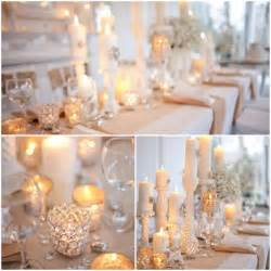 Candle Centerpieces Ideas Glamorous Candle Wedding Centerpieces Budget Brides Guide A Wedding Blog