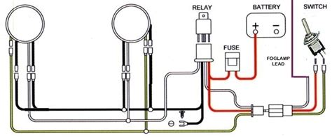 relay for fog lights wiring diagram wiring diagram and