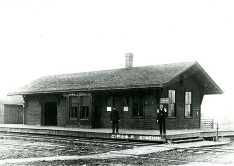 railroads depots lone tree iowa flickr photo
