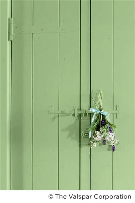 bring nature inside with a light green try valspar signaturetm paint in garden sprout 6004 9c