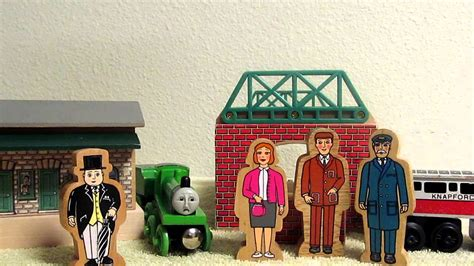 Out On Set by Wooden Railway Come Out Henry Set Review