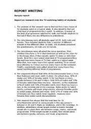 Grammar Report Writing Format by Term Paper Report Format