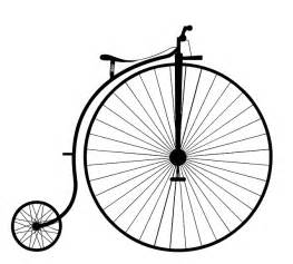 Victorian Computer Desk Free Illustration Penny Farthing Bike Bicycle Old