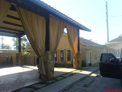 Canvas Patio Curtains Patio Shade Curtains Made From Canvas Tarps Patio Pinterest Patio Shade Patios And