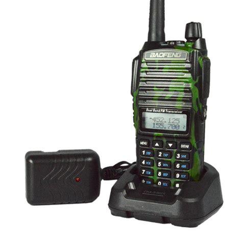 Walkie Talky Ht Handy Talkie Baofeng Uv82 Radio Komunikasi Terbaru baofeng uv 82 walkie talkie uhf vhf dual band uv5r cb radio 128ch vox flashlight dual display fm
