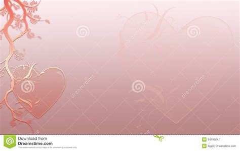 valentine hearts background in business card forma royalty