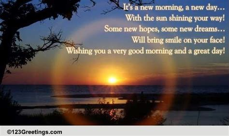 Everyday Good Morning Cards, Free Everyday Good Morning