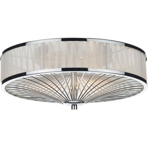 simple flush fitting with choice of l types dar lighting oslo 3 light flush ceiling fitting in