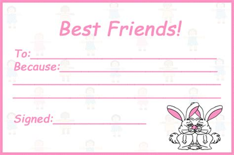 friendship card templates best friend quotes coloring pages quotesgram