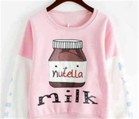Nutela Milk Sweater nutella milk sweater search image 4084373 by