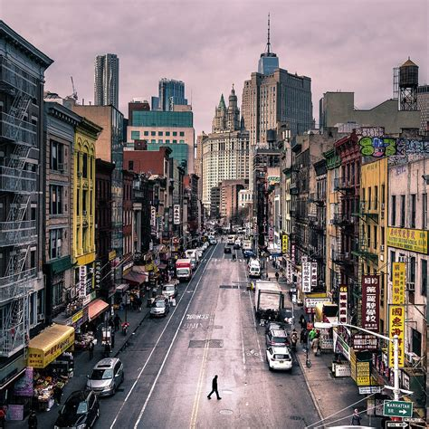 nyc color chinatown new york color photography photograph