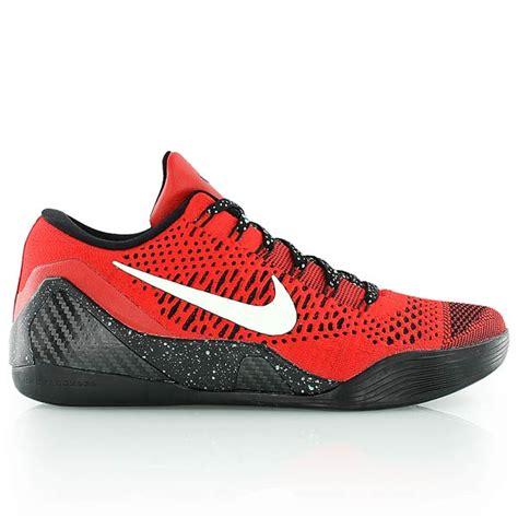 kickz basketball shoes nike 9 elite low black bei kickz