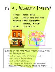 sle jewelry invitation