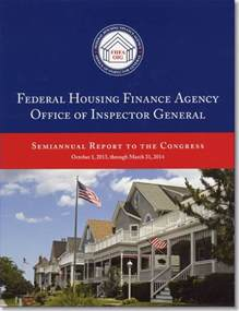 federal housing finance agency federal housing finance agency office of inspector general semiannual report to