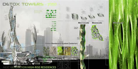 Floor Diagram detox towers evolo architecture magazine